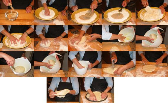 Приготовление теста для пиццы